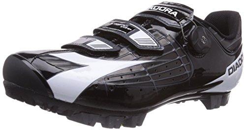 Diadora - X Vortex- Comp, Scarpa Da Ciclismo Unisex – Adulto Nero (Schwarz (schwarz/weiß 6410))