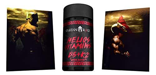 Förderung Der Vitamin-b-komplex (Limited Edition Gods Rage Helios Vitamin D3+K2 Aminosäure Aminos Supplement Fitness Bodybuilding)