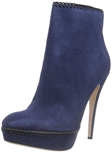 Sebastian S6712 C/16, Stivali modello classico, non imbottiti donna, Blu (Blau (velour blue)), 38