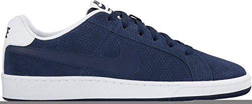 Nike Court Royale Prem Leather, Chaussures de Sport Homme, Bleu Bleu - Azul (Midnight Navy / Mid Navy-White)