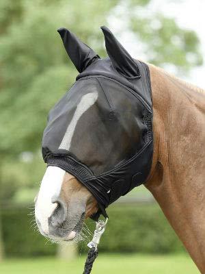 BUSSE everline Fliegenmaske FLY BUCKLER Pony, schwarz