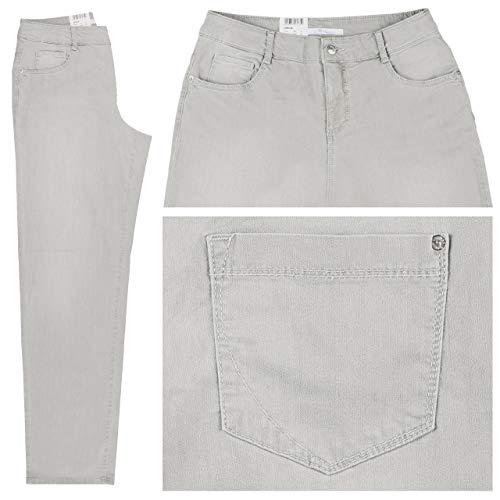 Mac Damen Flared-Jeans Gracia Feminine Fit Silber (12) 46/34