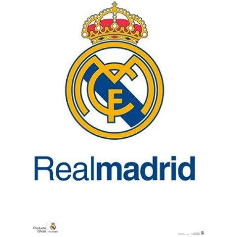 Grupo Erik Editores GPE4315 - Póster Real Madrid Escudo Real, 61 x 91,5 cm