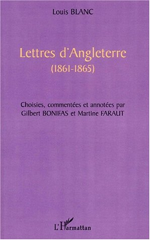 Lettres d'Angleterre (1861-1865)