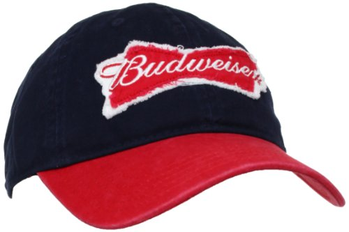 budweiser-embroidered-logo-twill-snapback-casquette-de-baseball