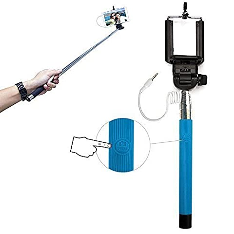 Xtra-Funky Exclusif bouton-poussoir universel exploité monopode Selfie bâton avec collier