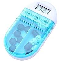 Hrph Tragbare Grid Intelligente elektronische Zeit Pille Fall Alarm Timer Pillen Erinnerung Storage Box preisvergleich bei billige-tabletten.eu