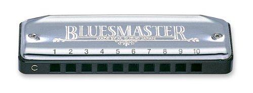 Suzuki Bluemaster MR250C diatonische Mundharmonika aus ABS, 10 Blasöffnungen, Chrom