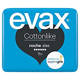 Evax Cottonlike Notte Assorbenti con ali – 9 pezzi