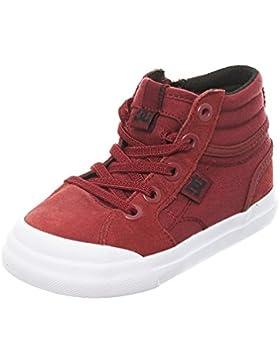 DC Shoes Evan Hi, Scarpe da Ginnastica Basse Bambino