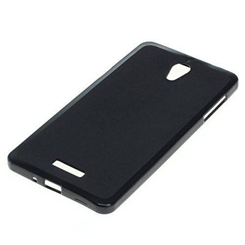 Dark Case Handy Tasche für Coolpad Modena 2 Schutzhülle Hülle schwarz matt