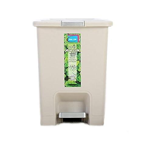 Wgwioo Creative Trash Can Maison Moderne Salle De Bain Cuisine Bureau Poubelle En Plastique , 1