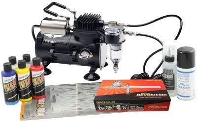 Iwata Custom Graphics Airbrush Kit mit Smart Jet Kompressor -