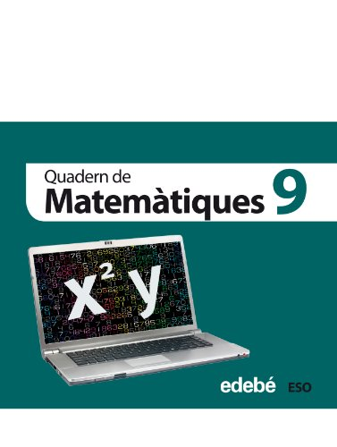 Quadern 9. Matemàtiques 3 Eso - 9788468301389