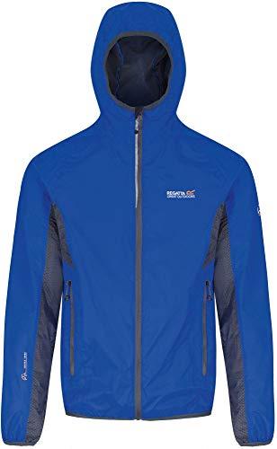 Regatta Herren Levin Wasserfeste Jacke,XXL,Oxford Blue/Seal Grey