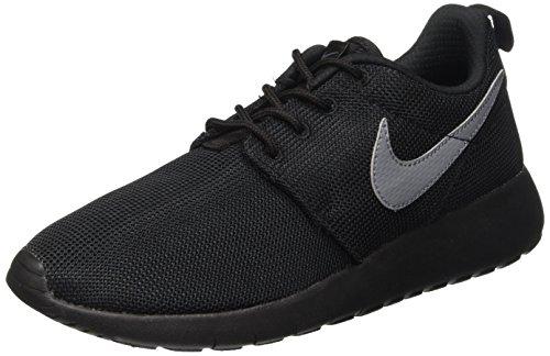 Nike Roshe One (GS), Jungen Laufschuhe, Multicolor - Negro/Gris (Black/Cool Grey) - Größe: 36 1/2 (Nike Roshe Run Schuhe Kinder)