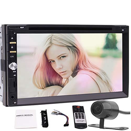 EINCAR Double 2 DIN-Format in der Schlag-Autoradio Autoradio-7-Zoll-Screen-Auto-DVD-Video-Player Bluetooth-Freisprecheinrichtung 1080p Video USB TF Lenkrad-Steuerung mit Rückfahrkamera unterstütz