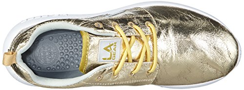 L.A. Gear Sunrise, Baskets Basses Femme Gold (Gold 01)