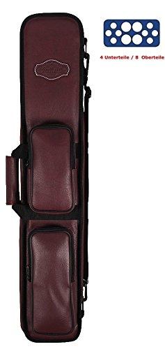 Buffalo Queue-Tasche 4 Unterteile /8 Oberteile Farbe BURGUND