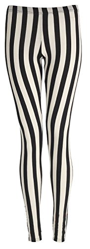 Ladies Vertical Stripes Leggings in two sizes