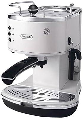 Delonghi Icona ECO311.W Pump Espresso Coffee Maker White by De'Longhi