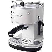 De'Longhi ECO311.W ICONA Macchina per Caffè Espresso con Pompa, (1 Tazza Di Caffè In Cialde)