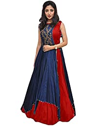 Salwar Suits Dresses And Dress Materials For Women Party Wear Collections With Heavy Tapeta Silk Neavy Blue With...