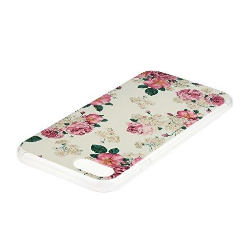 TPU für Smartphone Apple iPhone 7 (4.7 Zoll) Design - Schale Etui Protective Hartschale Backcover Case Schutzhülle Cover in Smartphone Apple iPhone 7 (4.7 Zoll) Stoßdämpfend Design Skin +Staubstecker  10