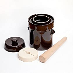Tarro para fermentación de kombucha, 2 L