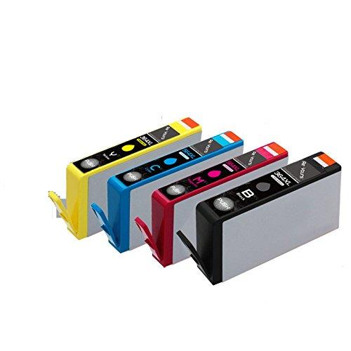 Preisvergleich Produktbild Win-Tinten Kompatibel Tintenpatronen Ersatz für HP 364XL 364 Hohe Kapazität für HP Deskjet 3070A, Photosmart 4622 5510 5511 5512 5514 5515 5522 5524 5520 6510 6520 6512 6515 7510 7515 7520 Drucker (1 Schwarz+1 Cyan+1 Magenta+1 Gelb)