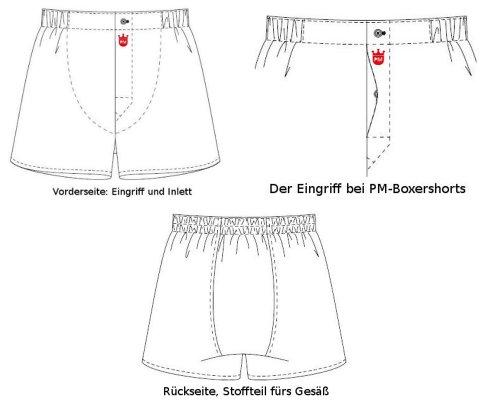 """PM Herren Boxershort Exklusive Edition """"Gentleman"""