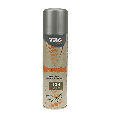 TRG Renovator Wildleder Nubuk Microfaser Pflegespray Imprägnierspray (olivgrün)
