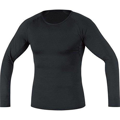 GORE BIKE WEAR, Maglia a maniche lunghe, Intimo Uomo, Termica, GORE Selected Fabrics, BASE LAYER Thermo long, Taglia M, Nero, UTSMEN990004