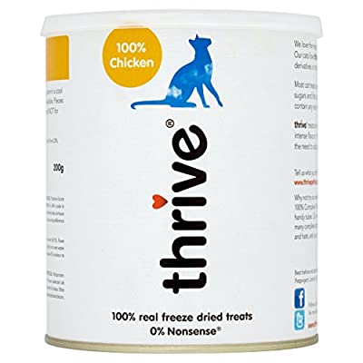 Thrive Cat 100 Percent Chicken Treats MaxiTube, 200 g