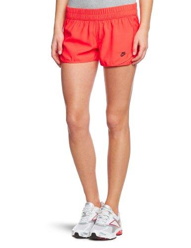Nike Damen Kurze Hose Ru Tempo Short, Hyper red/Velvet Brown, XS, 526677-611 -