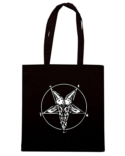 T-Shirtshock - Borsa Shopping FUN1139 Dairy Devil Nero