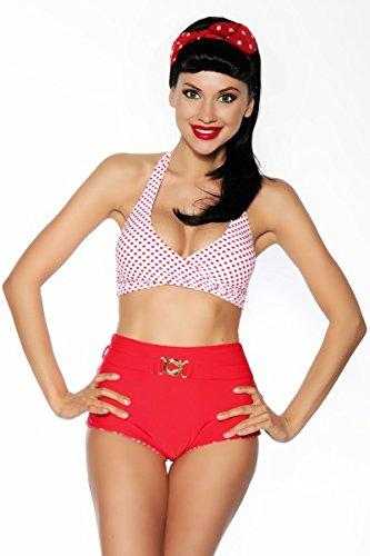 Vintage de bikini, reversible, tamaño: S