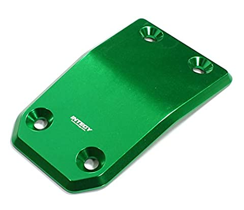 Integy RC Model Hop-ups C25243GREEN Billet Machined Alloy Front Skid Plate for Losi 5ive-T