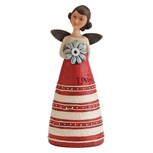 Kelly Rae Roberts 'gennaio desiderio di compleanno ornamenti angelo