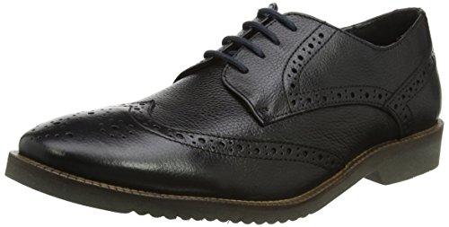 Lotus Men's Newing Brogues, Black (Black Leather), 10 UK 44 EU