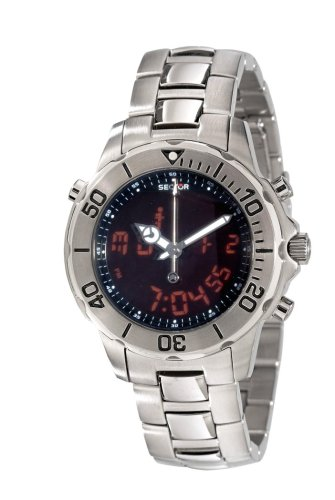 Sector Unisex Analogue Watch with multicolour Dial Analogue Display - R3253209125