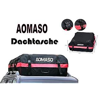 Aomaso TKN Auto Dachtasche faltbar 280 Liter Volumen Dachkoffer Universal Dachbox