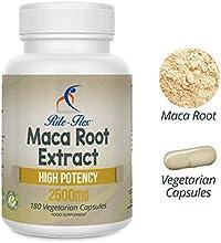 Cápsulas de Extracto de Raíz de Maca 2500mg, 180Cápsulas végétariennes de alta potencia (reserva de 6meses) por Rite Flex