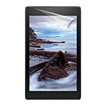 """NuPro Fire HD 8 Screen Protector Kit (8"""" Tablet, 7th and 8th Generation – 2017 and 2018 release), 2-Pack, Clear"""