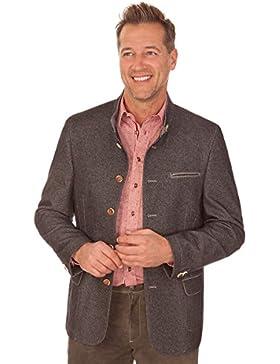 Trachten Herren Janker - PILL - grau
