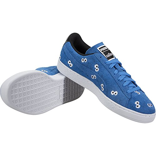 PUMA Select Men s x Sesame Street Suede Sneakers  French Blue  9 D M  US