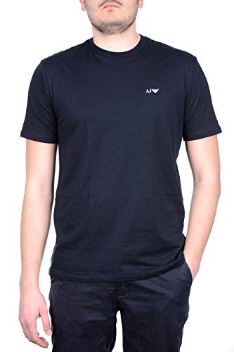 armani-jeans-t-shirt-da-uomo-manica-corta-logata-bipack-bipacco-double-pack-m-blue-scuro