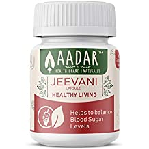 JEEVANI Capsules - Supports Healthy Blood Glucose Levels and Natural Detox (with Aloe Vera & Neem) – 60 Capsules