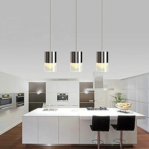 SQL Araña 3 luces hardware de LED/bombilla/moderno/contemporáneo sala comedor cocina . 220-240v