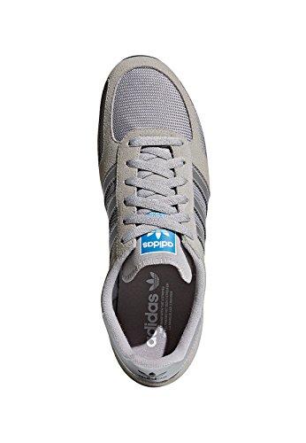 adidas Herren LA Trainer Sneakers Grau (Mgh Solid Grey/metallic Silver-sld/ftwr White)